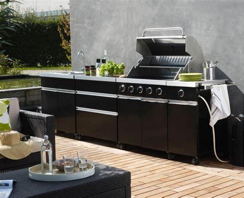 cuisine de jardin cuisine d extérieur découvrez les nouvelles cuisines de