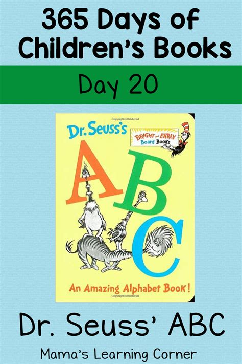 dr seuss abc  amazing alphabet book day  mamas