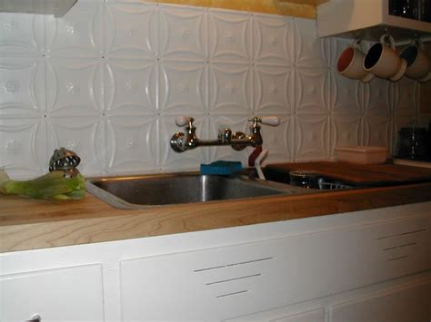 tin backsplash kitchen 33 best images about tin backsplash on kitchen 2836