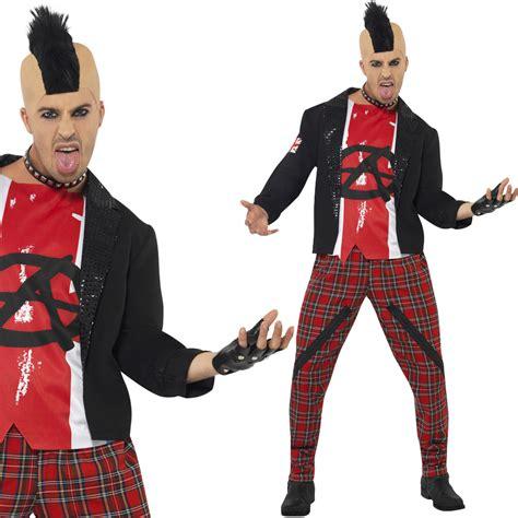 80er kostüm herren herren 80er fantasie kost 252 m anarchie anarchist rock rocker ebay