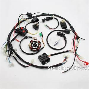 Gy6 150cc 200cc 250cc Full Electrics Stator Wire Harness