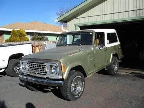 commando green jeep lifted purchase used 1973 jeep cammando in klamath falls oregon