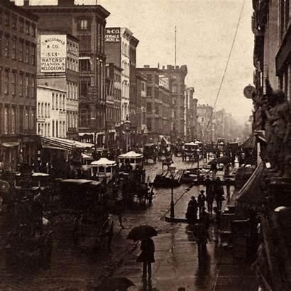1860s Nyc 1860 3d York Broadway 1930