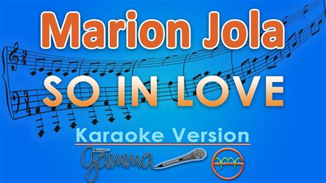 So In Love (karaoke Lirik Tanpa Vokal) By