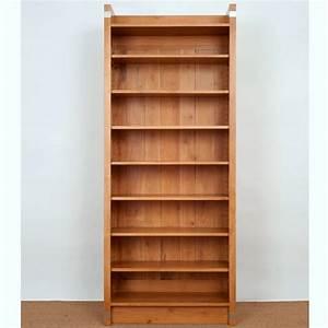 Bücherregal Erle Massiv Geölt : b cherregal einsplus erle massiv naturton 215x80x35cm ebay ~ Indierocktalk.com Haus und Dekorationen