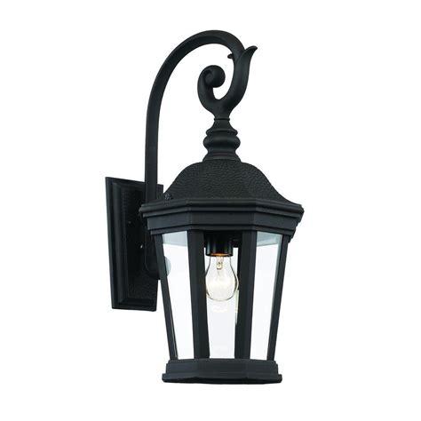 bel air lighting 1 light black outdoor chateau villa wall