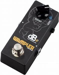 Wampler Db Plus Full Frequency Boost Pedal With Buffer