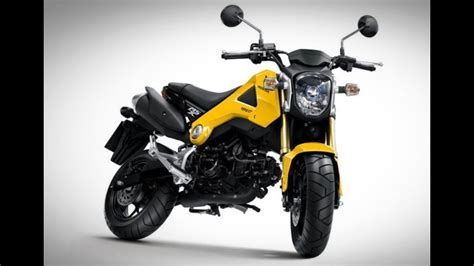 honda grom release date colors review youtube