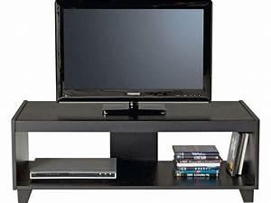 Meuble Tv Led Conforama : meuble tv stan 2 coloris noir conforama pickture ~ Dailycaller-alerts.com Idées de Décoration