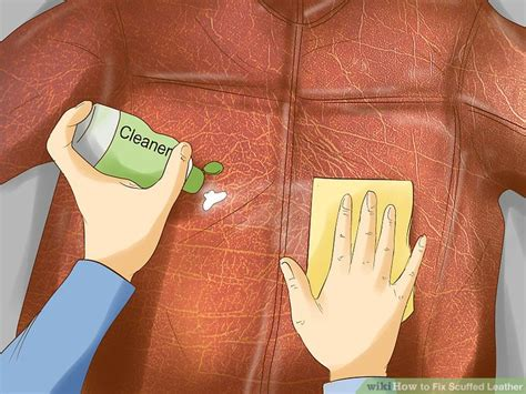 fix scuffed leather 3 ways to fix scuffed leather wikihow 3762