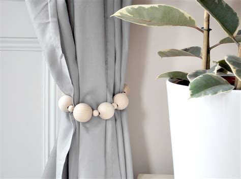 beautiful diy curtain ties backs on a budget interior
