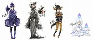Ghost pokemon gijinka gifs by Evil-usagi on DeviantArt