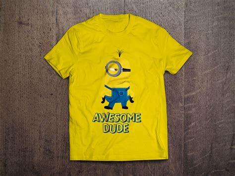 despicable  vector minion  shirt designs  ai eps