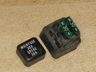 Kawasaki Nomad 1500 Fuse Box by Kawasaki Vulcan 1500 Nomad Fuse Junction Box Relay 26021