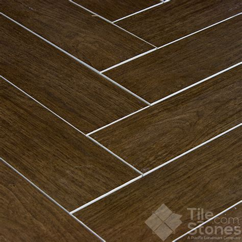 Exotica Espresso Wood Plank Porcelain Tile