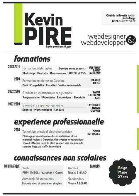 Unique Resume Design 30 creative resume designs that will make you rethink your cv