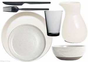 Assiette Noire Mat : o trouver de la vaisselle aux teintes nordiques joli place ~ Teatrodelosmanantiales.com Idées de Décoration