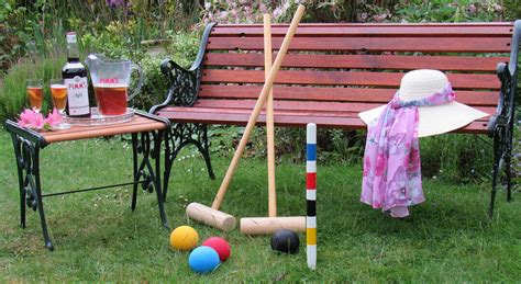 Backyard Croquet by Croquet Outdoor Lawn And Unofficial