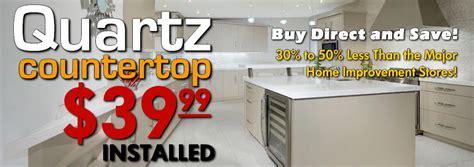 granite countertops quartz surfaces sale 29 99 installed