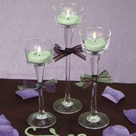 dollar tree candle holders real weddings and wedding inspiration ideas 48 stem