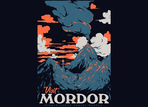 Visit Mordor by Mathiole | Threadless