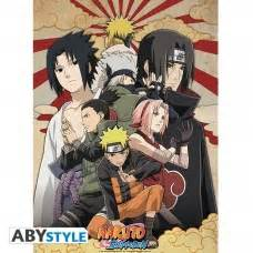 naruto shippuden poster shippuden group  abystyle