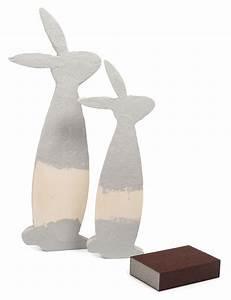 Beton Effekt Paste : anleitung hasenpaar mit beton effekt paste und papier basteln ~ Eleganceandgraceweddings.com Haus und Dekorationen