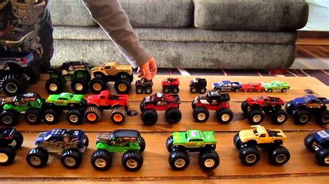 monster jam trucks toys toy monster truck review youtube