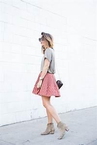 Street Style Ways to Wear the Midi Skirt u2013 Glam Radar
