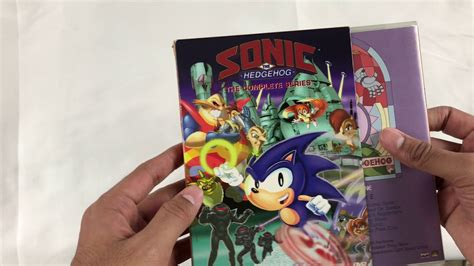 sonic  hedgehog complete series dvd unboxing  shout