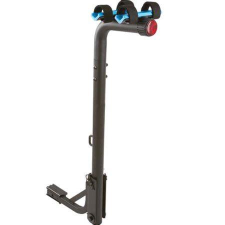 bike rack walmart 2 bike blue hitch mounted bicycle carrier rack