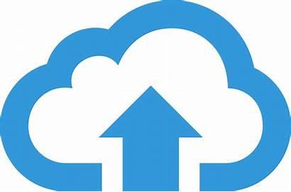 Cloud Icon Hosting Server Newdesignfile Web Via