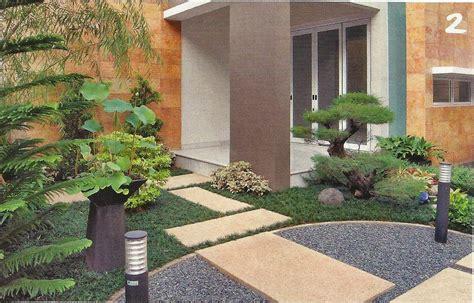 desain taman kecil depan rumah minimalis desain taman