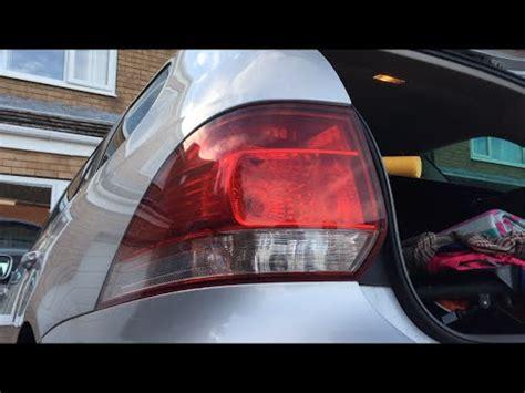 how to change rear brake light bulb vw golf mk6 5k