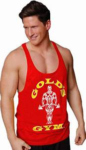 Muscle Joe Premium Stringer Tank by Gold's Gym at ...