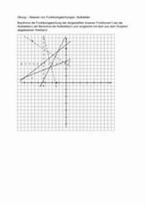 Lineare Funktionen Nullstelle Berechnen : 4teachers lehrproben unterrichtsentw rfe und ~ Themetempest.com Abrechnung