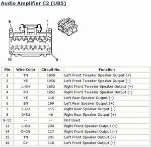2006 Pontiac G6 Stereo Amp Wiring Diagram