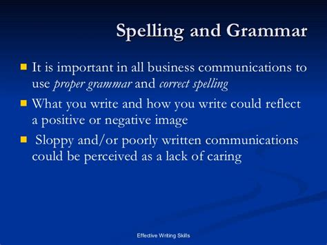Is Grammar Important by Importance Of Grammar Essay Communication