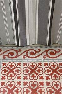 Carreaux De Ciment Rouge : carreaux de ciment pour le sol de la maison c t maison ~ Melissatoandfro.com Idées de Décoration