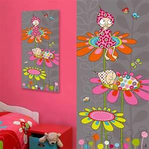 les 25 meilleures idees de la categorie tableau original With affiche chambre bébé avec peinture acrylique sur toile fleurs
