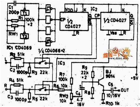 Stereo Encoder Circuit Diagram With Discrete Components