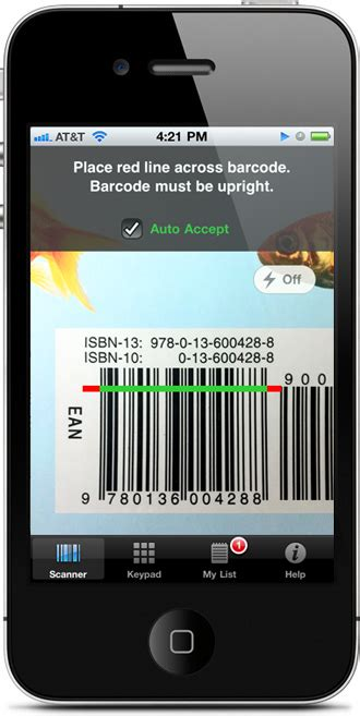 iphone scanner app book barcode scanner app isbn scanner app scan and