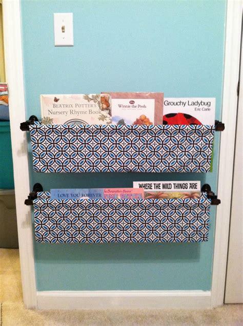 cozy creative ways  display books   nursery
