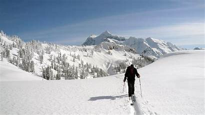 Ski Snow Winter Skiing Mountains Desktop Backgrounds