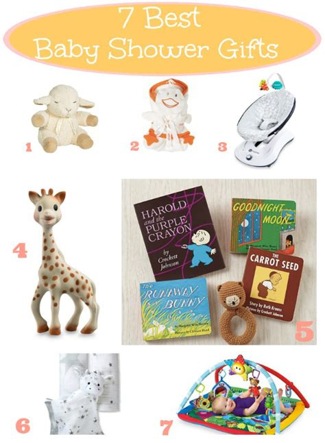 7 Best Baby Shower Gifts