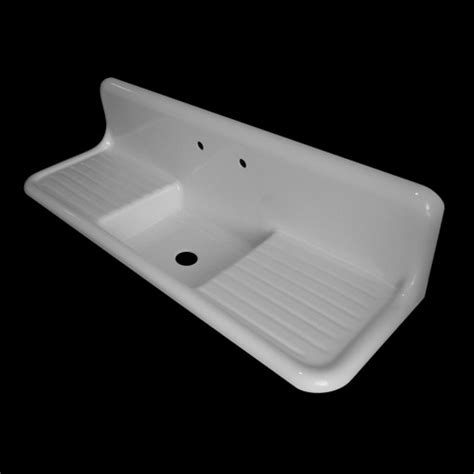 reproduction kitchen sinks with drainboards the search for a vintage farmhouse sink domestic