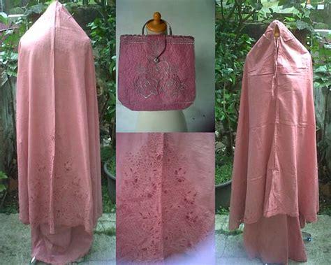 mukena katun jepang pink jual mukena cantik bandung bahan bagus harga murah dilla