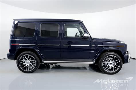 Whether it's a mud bath or a water crossings, the the black accents either create exciting contrasts or enable a completely black look for the first time. Used 2020 Mercedes-Benz G-Class AMG G 63 For Sale ($208,996)   McLaren Charlotte Stock #342316