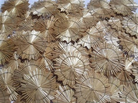 Beautiful Woven Wheat Straw Star Ornaments In Traditional