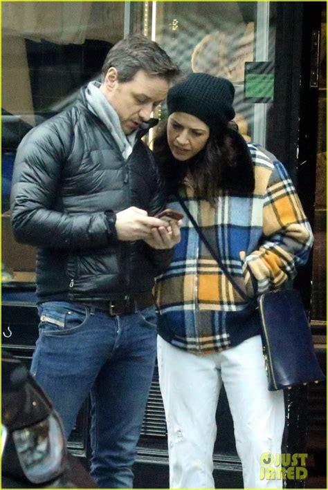 james mcavoy girlfriend lisa liberati pack  pda
